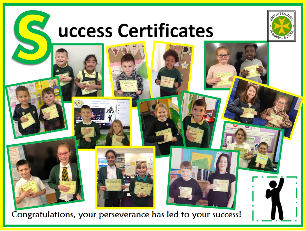 Success Certificate Winners - November 2020